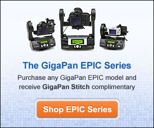 The GigaPan EPIC Series, Purchase an GigaPan EPIC model and receive GigaPan Stitch complimentary